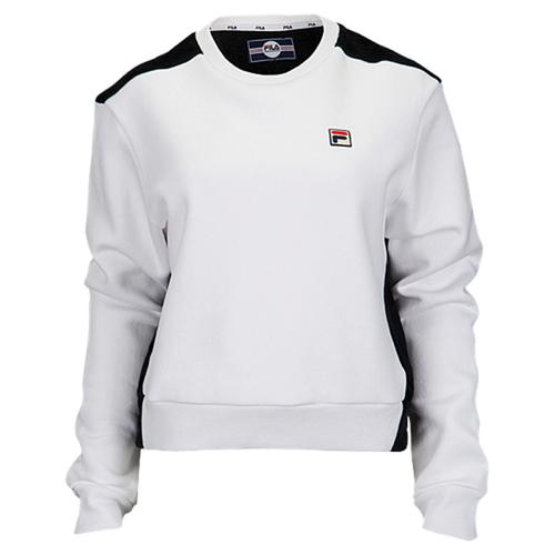 fila felicity sweatshirt womens フィラ women's レディース