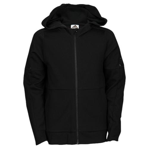【海外限定】【マラソンセール】アディダス adidas squad id fullzip hoodie フーディー パーカー 男の子用 (小学生 中学生) 子供用