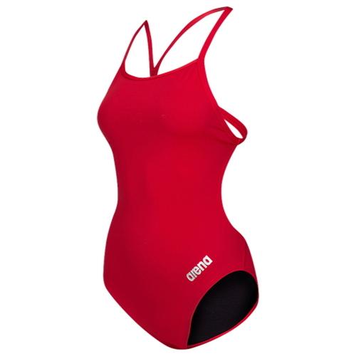 【海外限定】arena master thin strap open racerback swimsuit ストラップ レディース