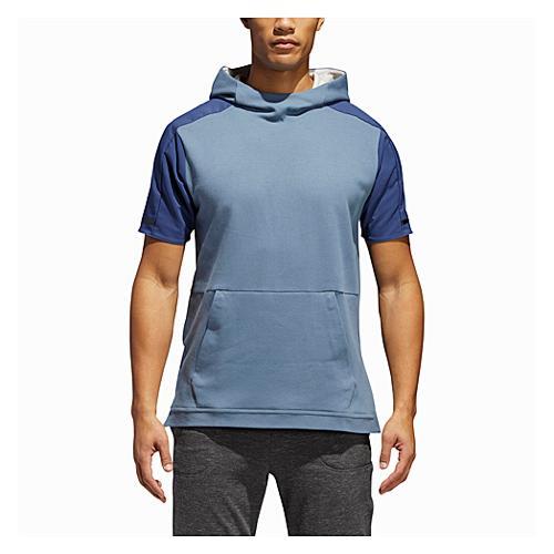【海外限定】アディダス アディダスアスレチックス adidas athletics ショーツ ハーフパンツ スリーブ フーディー パーカー メンズ squad color blocked short sleeve hoodie フィットネス アウトドア スポ