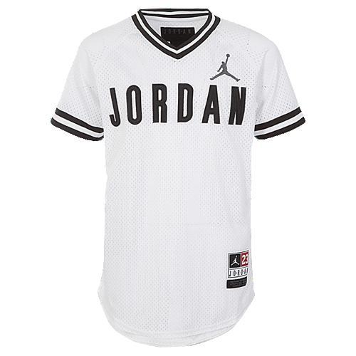 【海外限定】ジョーダン ベースボール ジャージ 男の子用 (小学生 中学生) 子供用 jordan 90s baseball jersey