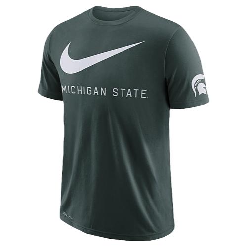 【あす楽商品】nike ナイキ college カレッジ drifit ドライフィット cotton swoosh スウッシュ スウォッシュ team チーム tシャツ メンズ