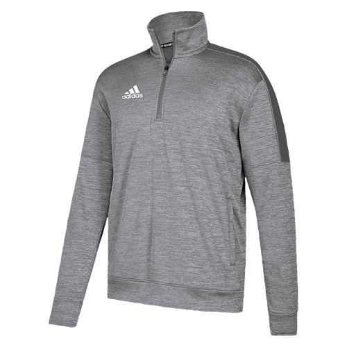 【海外限定】アディダス adidas team issue fleece 14 zip チーム フリース 1 4 メンズ