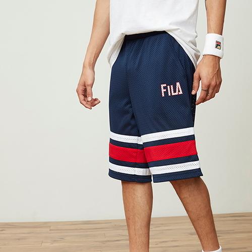 【海外限定】fila フィラ parker パーカー shorts ショーツ ハーフパンツ メンズ