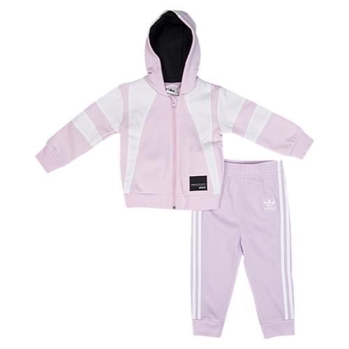 【海外限定】アディダス アディダスオリジナルス adidas originals オリジナルス フーディー パーカー equipment hoodie set girls infant