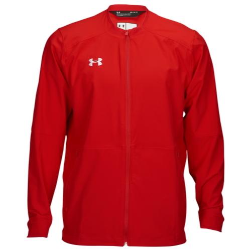 【海外限定】アンダーアーマー チーム ウーブン ウォームアップ ジャケット メンズ under armour team woven warmup jacket