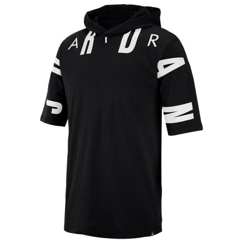 【海外限定】ジョーダン ショーツ ハーフパンツ スリーブ フーディー パーカー メンズ jordan jsw 23 short sleeve hoodie メンズファッション
