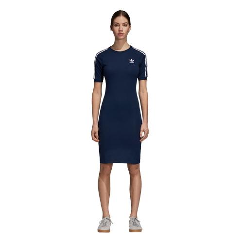 【海外限定】アディダス アディダスオリジナルス adidas originals adicolor 3stripe dress オリジナルス ドレス レディース