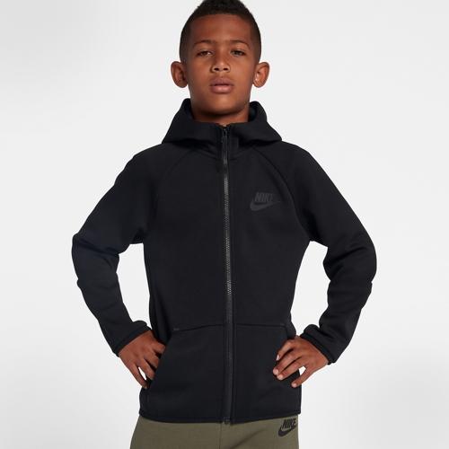 【海外限定】nike ナイキ tech テック fleece フリース fullzip hoodie フーディー パーカー gs(gradeschool) ジュニア キッズ