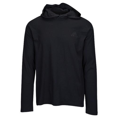 【海外限定】アディダス adidas アルティメイト スリーブ シャツ メンズ ultimate long sleeve hooded t