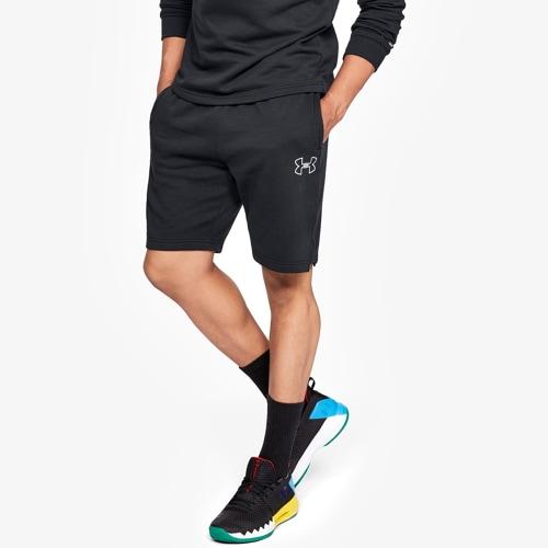 【海外限定】under armour baseline fleece shorts アンダーアーマー バセリン フリース ショーツ ハーフパンツ メンズ