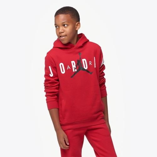 【海外限定】ジョーダン ジャンプマン エアー フリース gs(gradeschool) ジュニア キッズ jordan jumpman air fleece pullover gsgradeschool