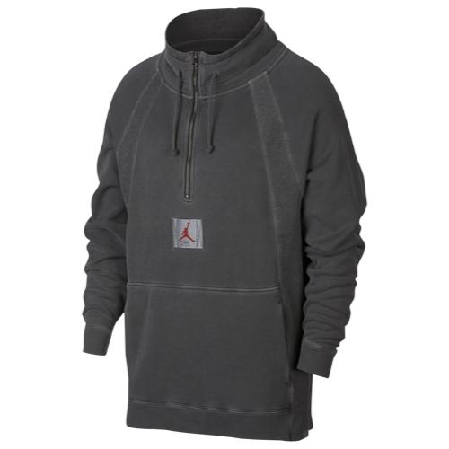 【海外限定】アッシュ ash jordan washed wings 14 zip pullover hoodie ジョーダン 1 4 フーディー パーカー メンズ