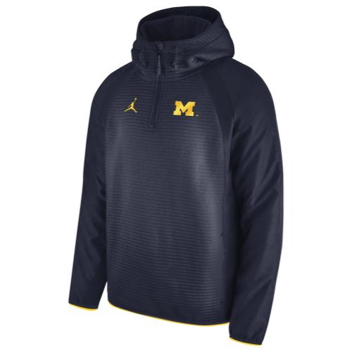 【海外限定】ジョーダン カレッジ ハイブリッド 1 4 ジャケット メンズ jordan college hybrid 14 zip jacket