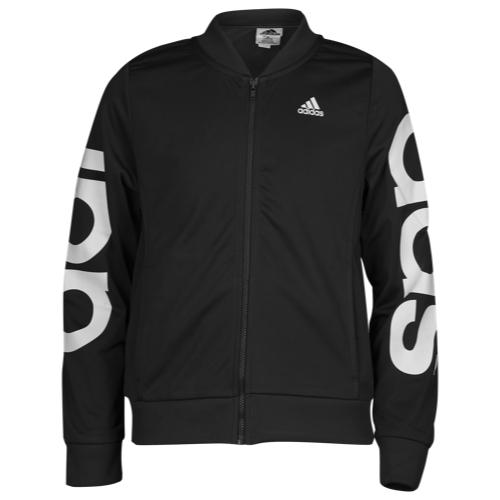 【海外限定】アディダス adidas ロゴ ジャケット gs(gradeschool) ジュニア キッズ big logo bomber jacket gsgradeschool