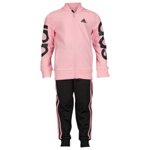 【海外限定】アディダス adidas big logo jacket set ロゴ ジャケット 女の子用 (小学生 中学生) 子供用 男の子 女の子