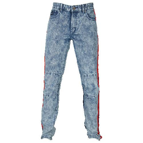 【海外限定】デニム dnm side strip denim pants メンズ