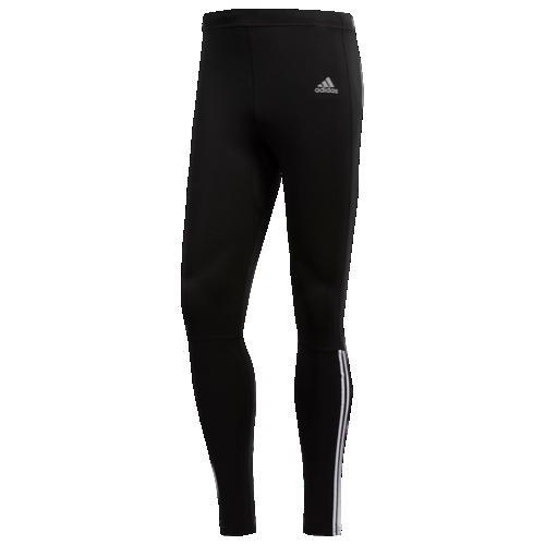 【エントリーで全商品ポイント10倍1/9 20:00-1/16 01:59迄】【海外限定】アディダス adidas ラン ストライプ タイツ メンズ run 3 stripe tights