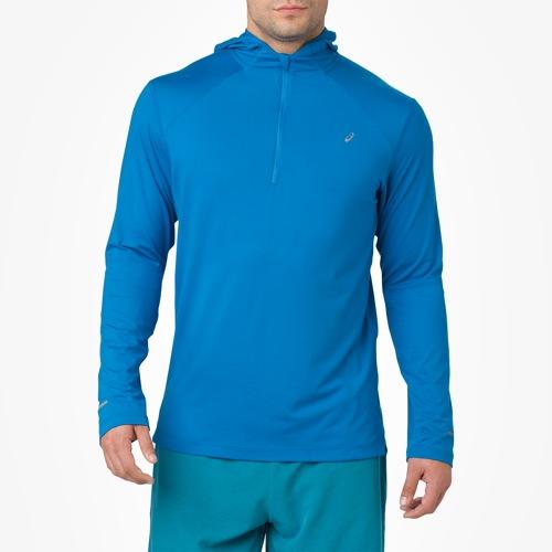 【海外限定】アシックス asics thermopolis long sleeve スリーブ hoodie フーディー パーカー メンズ
