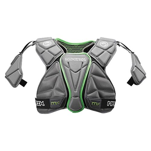 【海外限定】maverik lacrosse mx shoulder pad ラクロス メンズ アウトドア