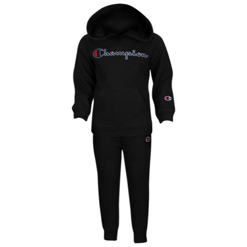 【海外限定】チャンピオン champion heritage 2piece hoodie フーディー パーカー and jogger set boys infant マタニティ