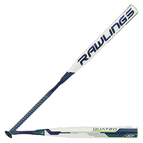 【海外限定】ローリングス バット レディース rawlings quatro fastpitch bat