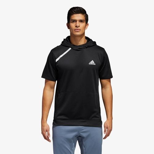 【海外限定】アディダス adidas s 半袖 シャツ フーディー パーカー メンズ sport ss t hoodie
