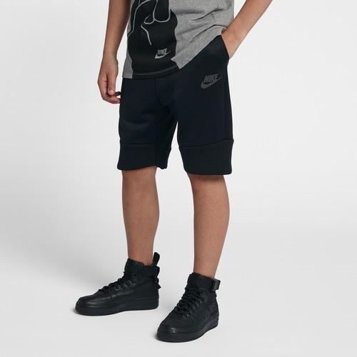 【海外限定】ナイキ テック フリース ショーツ ハーフパンツ gs(gradeschool) ジュニア キッズ nike tech fleece shorts gsgradeschool