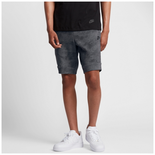 【海外限定】nike tech fleece aop shorts ナイキ テック フリース ショーツ ハーフパンツ メンズ