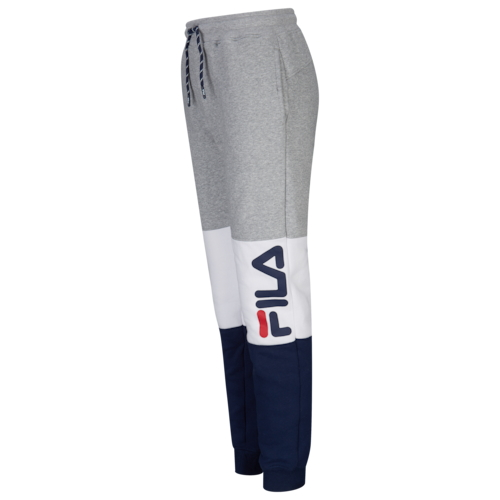 【海外限定】フィラ gs(gradeschool) ジュニア キッズ fila heritage colorblocked jogger gsgradeschool