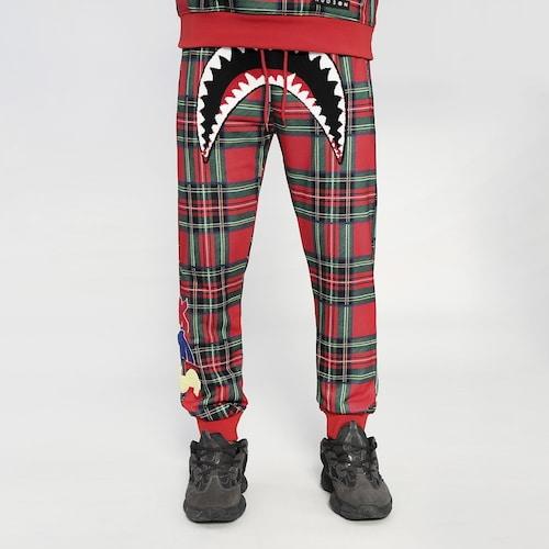 【海外限定】メンズ hudson sharkmouth plaid pants