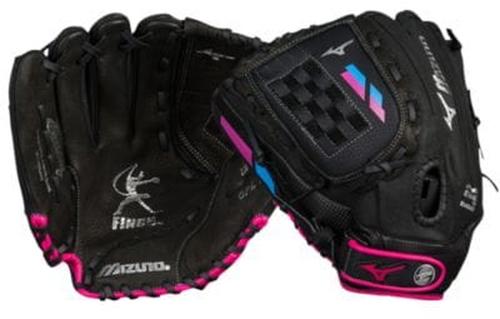 【海外限定】グローブ グラブ 手袋 女の子用 (小学生 中学生) 子供用 mizuno prospect finch fastpitch glove