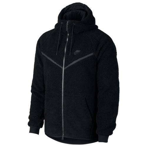 【海外限定】nike sherpa fullzip windrunner jacket ナイキ ウィンドランナー ジャケット メンズ メンズウインドブレーカー