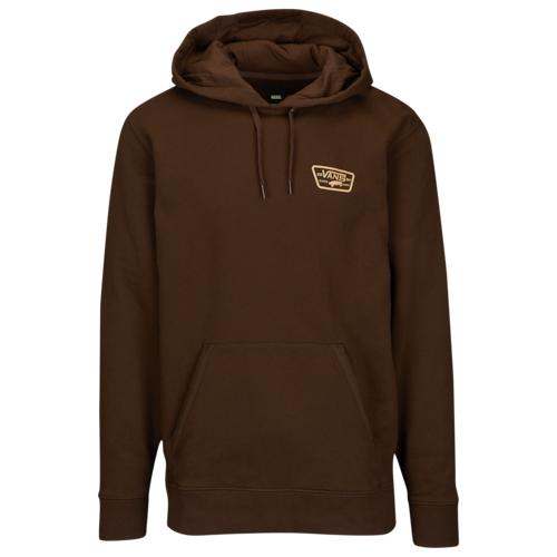 【海外限定】バンズ フリース フーディー パーカー メンズ vans full patched fleece hoodie