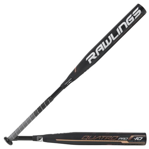 【海外限定】ローリングス プロ バット レディース rawlings quatro pro fastpitch bat
