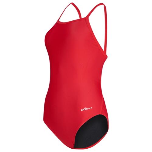 【海外限定】チーム ソリッド レディース dolfin team solid v2 back swimsuit 水泳
