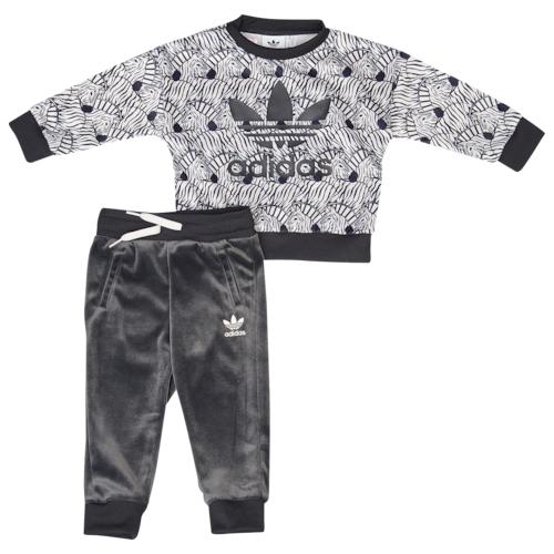 【海外限定】アディダス アディダスオリジナルス adidas originals オリジナルス zebra crew set girls infant