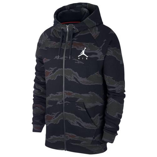 【海外限定】jordan ジョーダン jumpman ジャンプマン air エアー fleece フリース camo fullzip メンズ