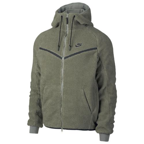 【海外限定】nike sherpa fullzip windrunner jacket ナイキ ウィンドランナー ジャケット メンズ
