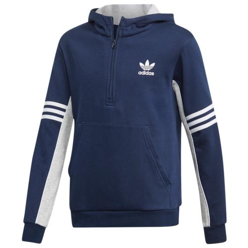 【海外限定】アディダス アディダスオリジナルス adidas originals オリジナルス オーセンティック フーディー パーカー gs(gradeschool) ジュニア キッズ authentic 3stripe hoodie gsgradeschool