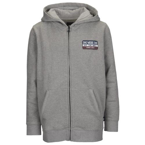 【海外限定】バンズ フーディー パーカー gs(gradeschool) ジュニア キッズ vans racing fullzip hoodie gsgradeschool