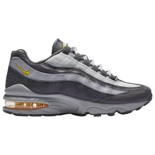 Nike Air Max 95 Off Noir//Dynamic Yellow//Atmosphere Grey Grade-School V1245001
