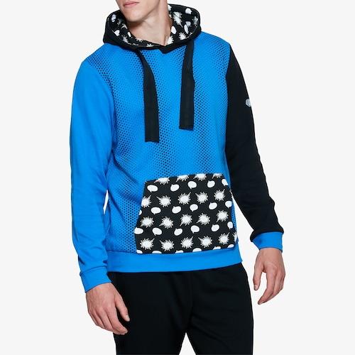 【海外限定】アシックス asics フーディー パーカー メンズ iger happy chaos pullover hoodie トップス