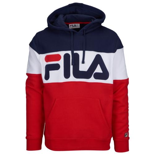 【海外限定】フィラ フリース フーディー パーカー メンズ fila flamino fleece hoodie