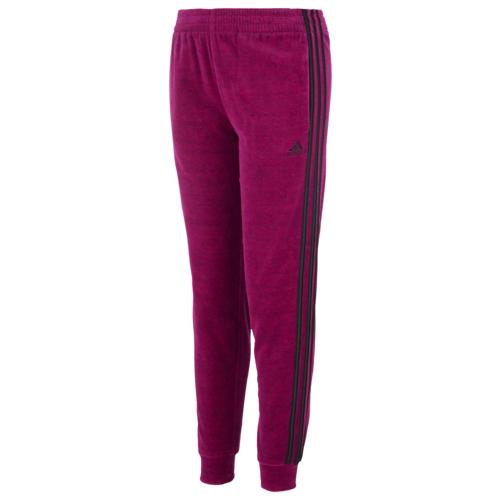 【海外限定】アディダス adidas velour track pants gsgradeschool ベロア トラック gs(gradeschool) ジュニア キッズ