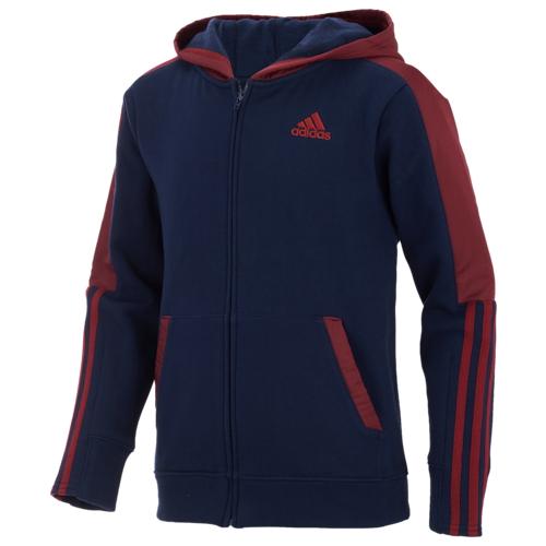【海外限定】アディダス adidas hybrid ハイブリッド fullzip hoodie フーディー パーカー gs(gradeschool) ジュニア キッズ