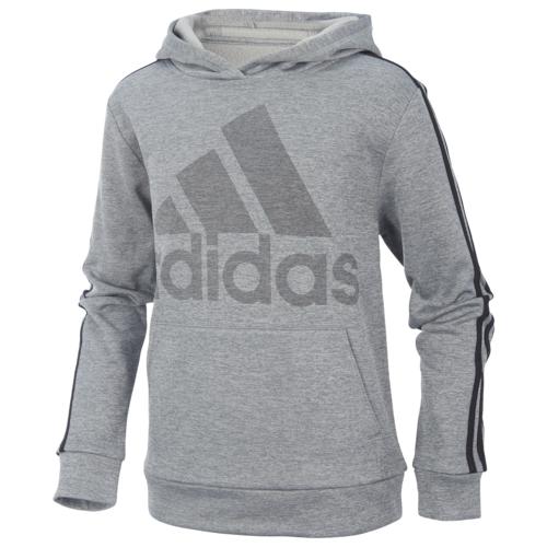 【海外限定】アディダス adidas performance heather 3stripe hoodie gsgradeschool パフォーマンス ヘザー フーディー パーカー gs(gradeschool) ジュニア キッズ