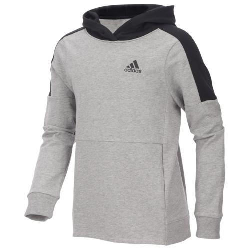 【海外限定】アディダス adidas threestripe cotton hoodie フーディー パーカー gs(gradeschool) ジュニア キッズ トップス マタニティ ベビー