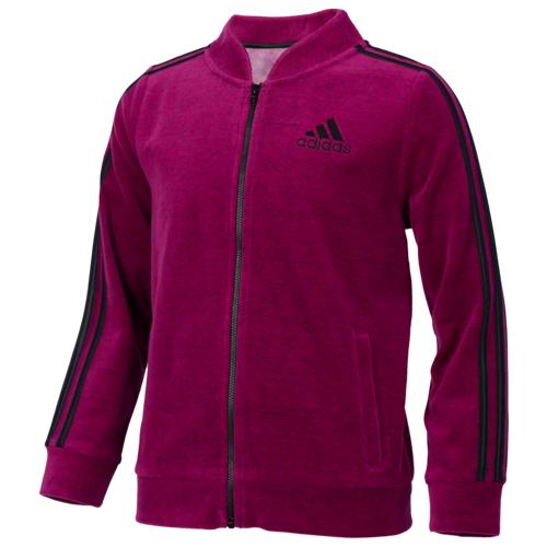 【海外限定】アディダス adidas ベロア トラック ジャケット gs(gradeschool) ジュニア キッズ velour track jacket gsgradeschool