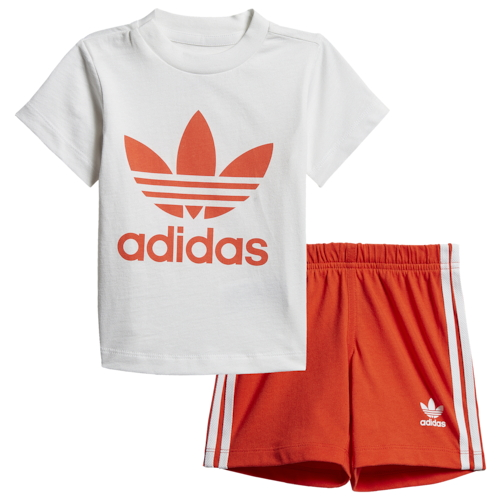 【海外限定】アディダス アディダスオリジナルス adidas originals オリジナルス ショーツ ハーフパンツ & シャツ se infan shorts t set boys infant